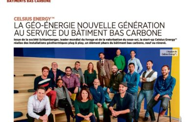 Celsius Energy dans Le Moniteur